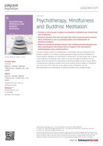 Mindfulness flyer